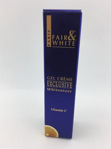 Fair & white gel cream exclusive whitenizer Vitamin C 30 Ml