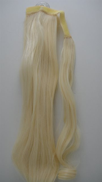 Hair Syntetetic Pony Taila 50 Cm Long 80 Gr. Clip on. Colour 613